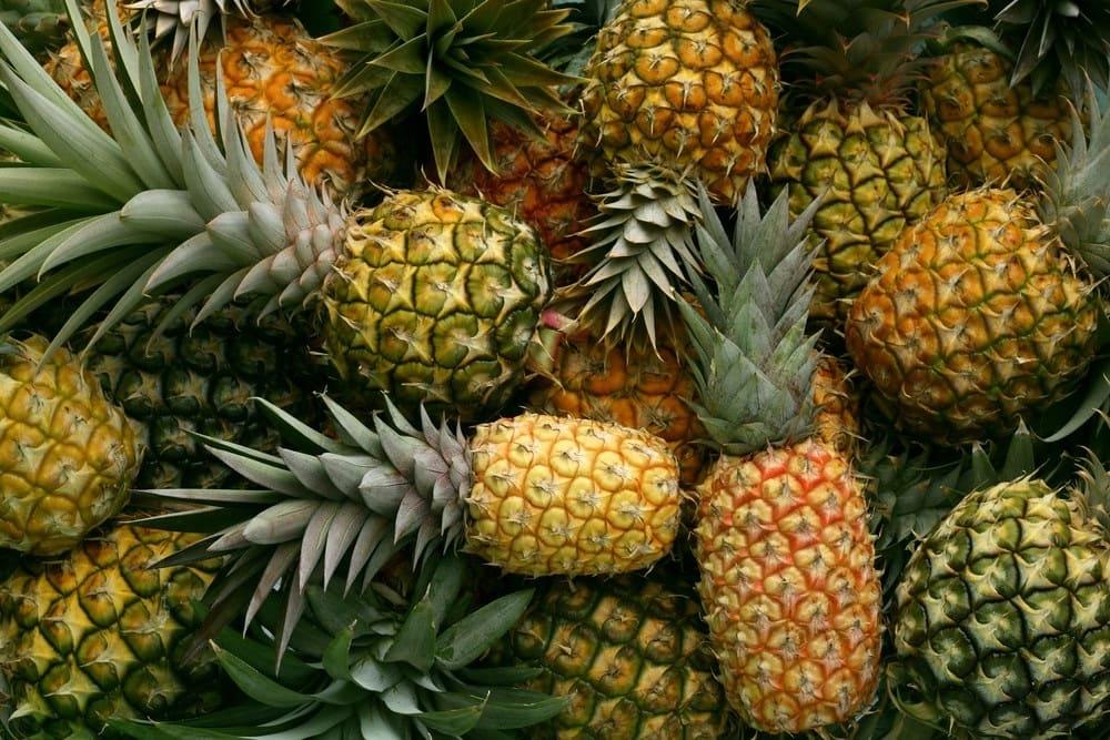 Цена ананаса за 1 кг