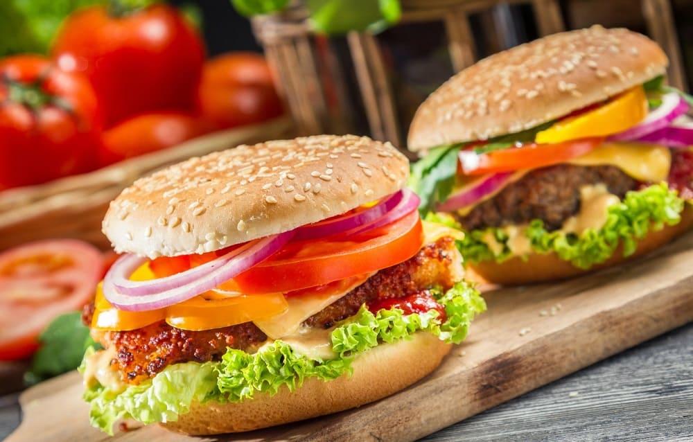 Цена гамбургера
