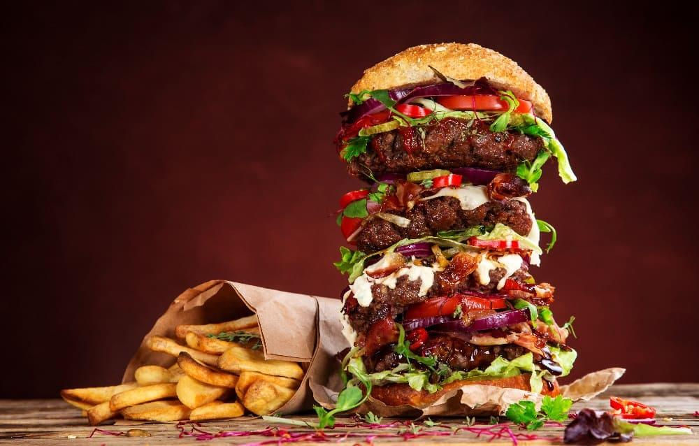 Стоимость гамбургера