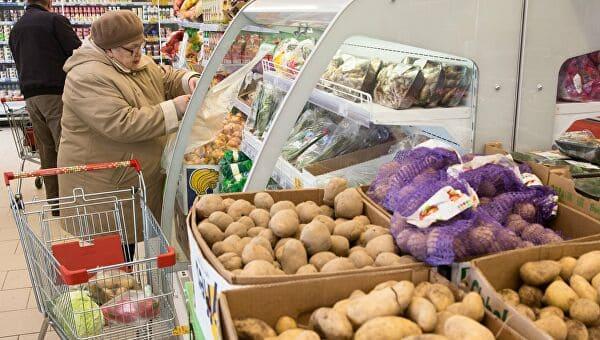 Сколько стоит картошка в Пятерочке
