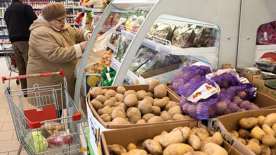 Цена картошки на рынке