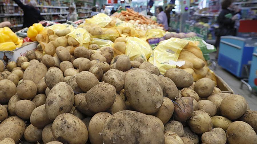 Стоимость картошки в Магните