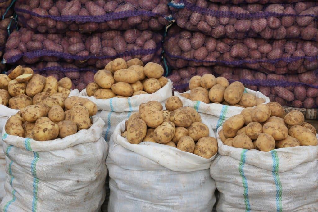 Стоимость картошки в Пятерочке