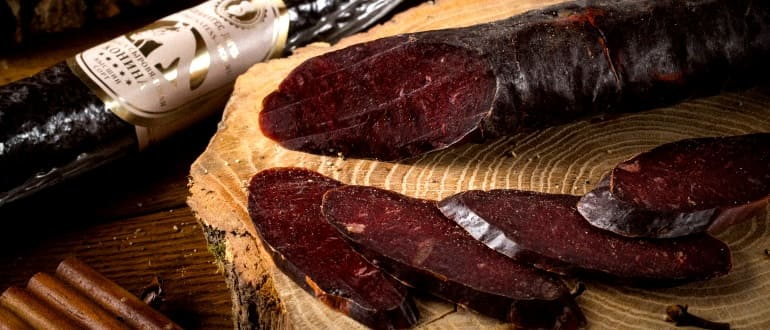 Сколько стоит конская колбаса