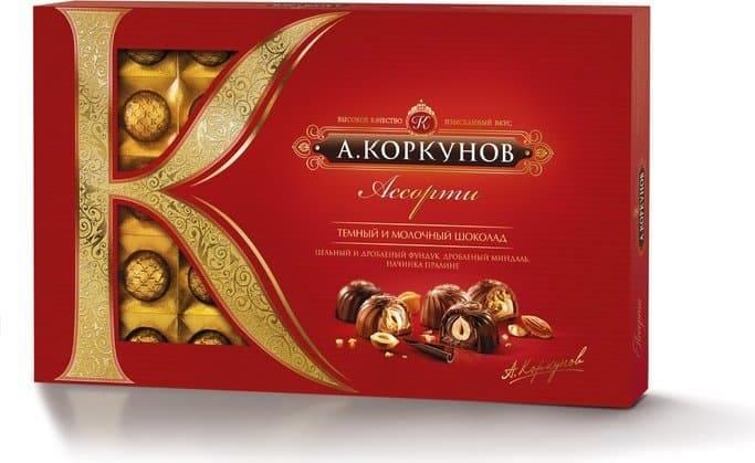 Цена коробки конфет