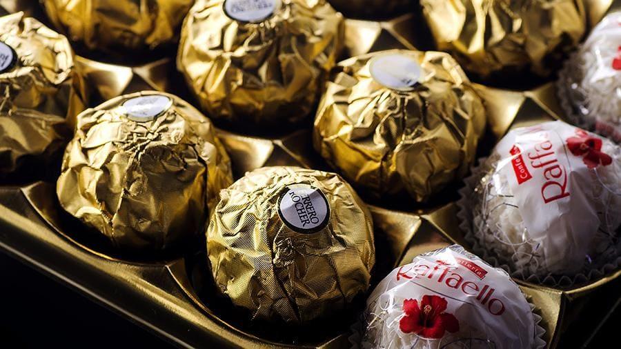 Цена шоколадных конфет
