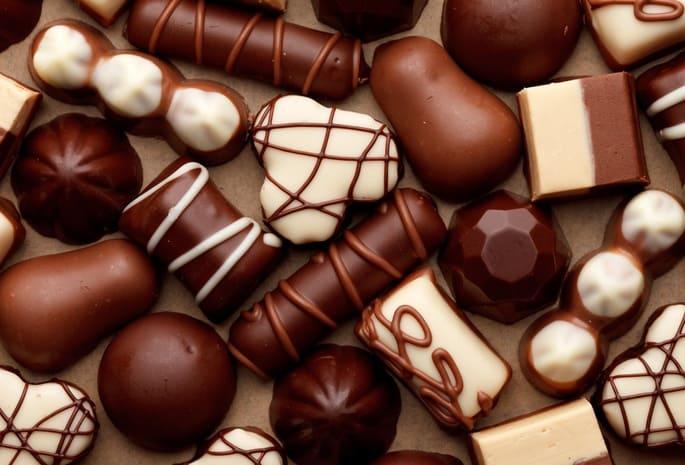 Стоимость шоколадных конфет