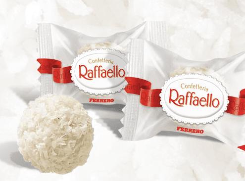 Стоимость конфет Рафаэлло