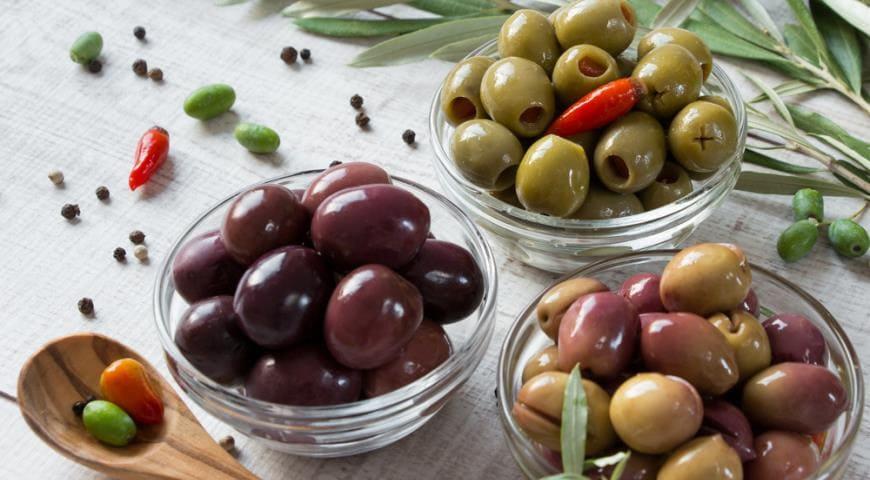 Сколько стоят оливки