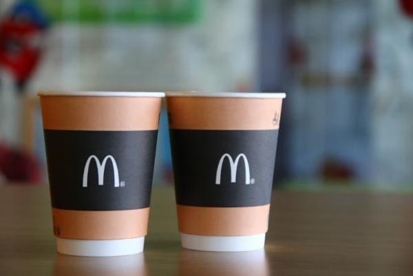 Сколько стоит кофе в Макдональдсе