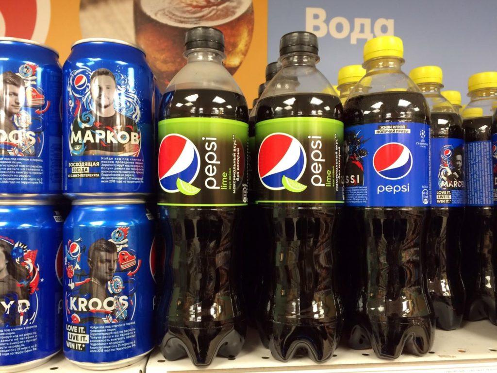 Цена Pepsi