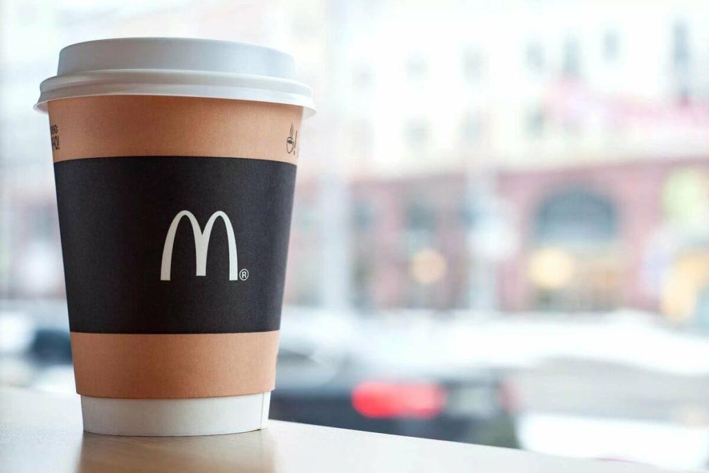 Цена кофе в макдональдсе