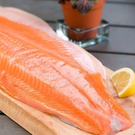 Цена лосося