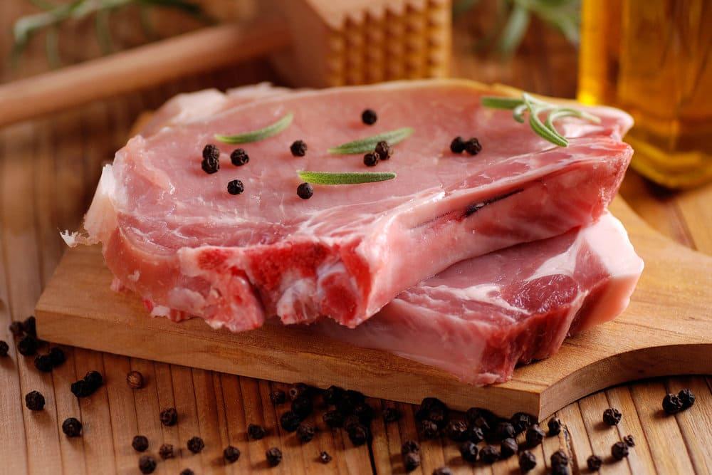 Стоимость свинины
