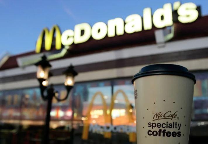 Стоимость кофе в McDonalds