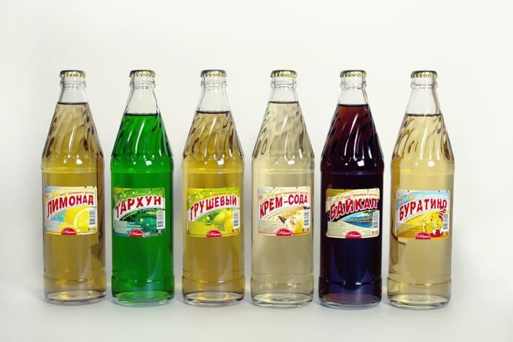 Стоимость лимонада в СССР