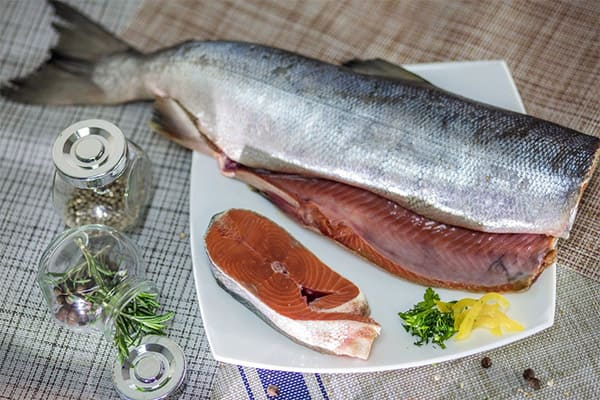Сколько стоит рыба кета