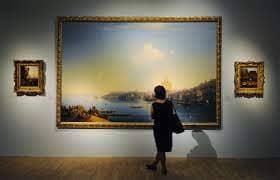 Сколько стоят картины Айвазовского