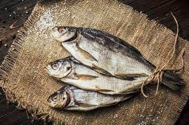 Сколько стоит сушеная рыба