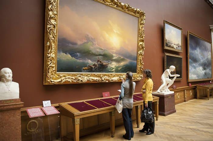 Цена картин Айвазовского