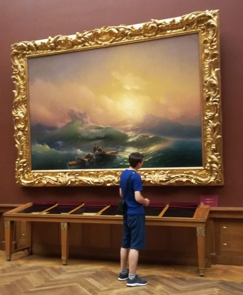 Стоимость картин Айвазовского