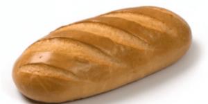 Сколько стоит батон хлеба
