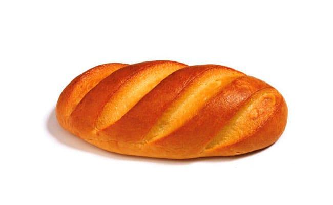 Цена батона хлеба