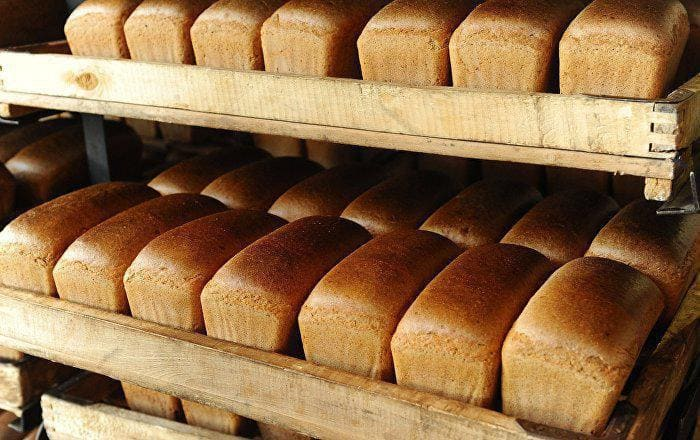 Стоимость булки хлеба