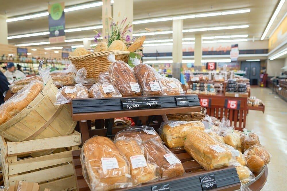 Стоимость хлеба в США